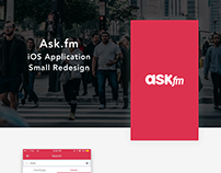 Ask.fm Small Redesign