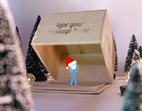 Capture the Christmas Spirit | Christmas Card Animation