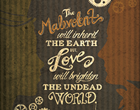 Malevolent the Musical Poster Designs