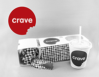 Branding & Packaging Project: CRAVE