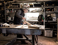 The cabinetmaker, an exploration of the craftsperson.