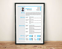 Resume, Cover Latter, Portfolio Template (Free Download
