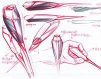Screwdriver Design Sketch