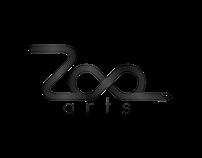 A sample logo design for Zoe Art