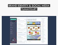 Tummykart - Logo + Brand + Social Media Ads