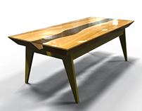 Angsana Solid Wood Table