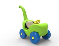 Kokün -juguete montable de rotomoldeo-