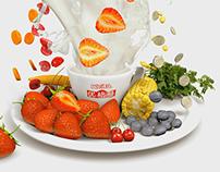 Flying Yogurt Commercial