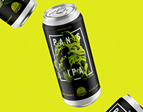 Pan's IPA Craft Beer Packaging