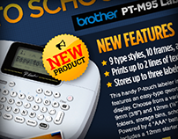 Distributor 'Back to School' Specials Email