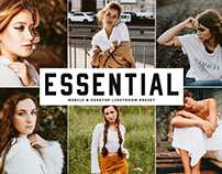 Free Essential Mobile & Desktop Lightroom Preset