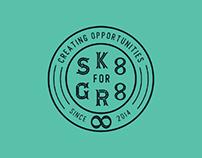 SK8 FOR GR8 - Skateboard Deck