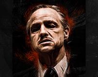 GODFATHER - Don Vito Corleone Artwork