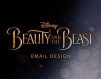 Disney: Beauty and the Beast (Email Design)