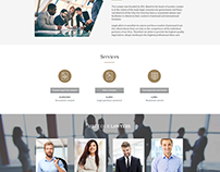 landing page for lawyers