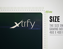 Xtrfy Mousepad - Product video