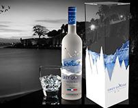 Grey Goose Vodka Packaging
