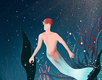 Illustration - Merman