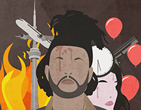 The Weeknd Album Artwork