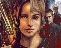 Division - Hunger Games x Divergent