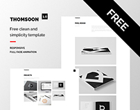 THOMSOON - Free responsive Portfolio Theme DOWNLOAD