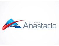 Quimica Anastacio new logotype and visual identity