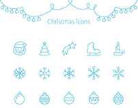 Christmas mood — icons