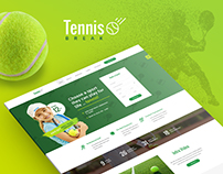 Tennis Demo Design for Composer - WordPress Theme