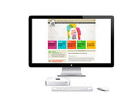 Maquetación web academia para todos
