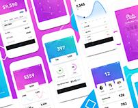 MyStats - Analytics Banking Mobile App UI Kit Design