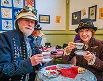 Steampunk Event - Ruddington Framework Knitters' Museum
