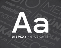 Arkibal Display - Typeface