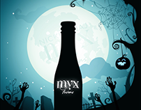 MYX Fusions - Halloween Motion Graphic Animation