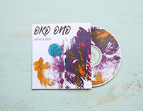 Дизайн обложки диска/Disc cover design for music group