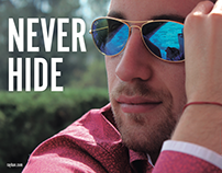 RAY BAN: NEVER HIDE