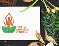 Tomesa Ayurveda Center- logo design