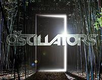 The Oscillators 'Before First Light' - Album Artwork