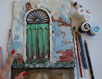 The Green Door Venice İTALY .By Gül ipek istanbul.