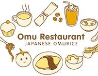 omurice menu design