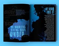 Magazine Spread: Scuba Diving