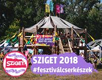 SZIGET 2018 #fesztiválcserkészek