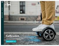 Technowireless website concept