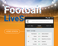 Football LiveScore App