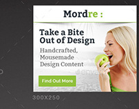 Mordre Web Banner Template