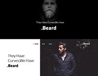 .Beard - Landing page design