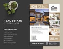 Real estate flyer - PSD