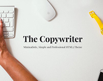 The Copywriter | HTML5 Theme