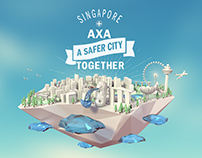AXA BTP - Safer City