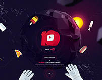 10 Years of Youtube - Concept