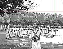 "Storyboard of music video ""Sirini سريني "" Saleh Al Yami"